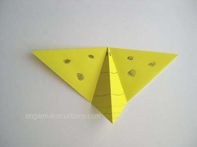 decorated origami butterfly