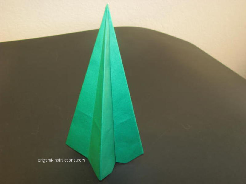 Origami Folding Instructions - How to make a Christmas Tree ...