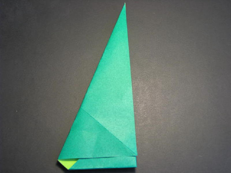 Origami Folding Instructions How To Make A Christmas Tree Holiday
