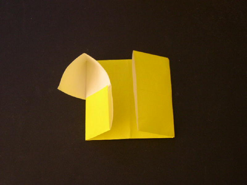 Easy Origami For Kids How To Make An House Photo Diagrams