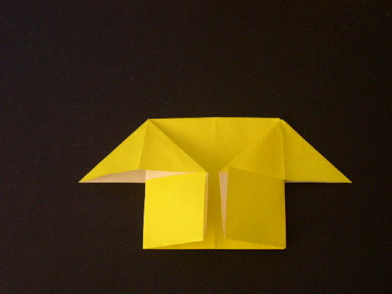 Easy Origami For Kids How To Make An Easy Origami House Photo Diagrams