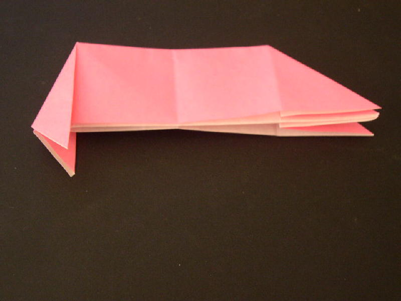 Origami Pig Photo Diagrams 17