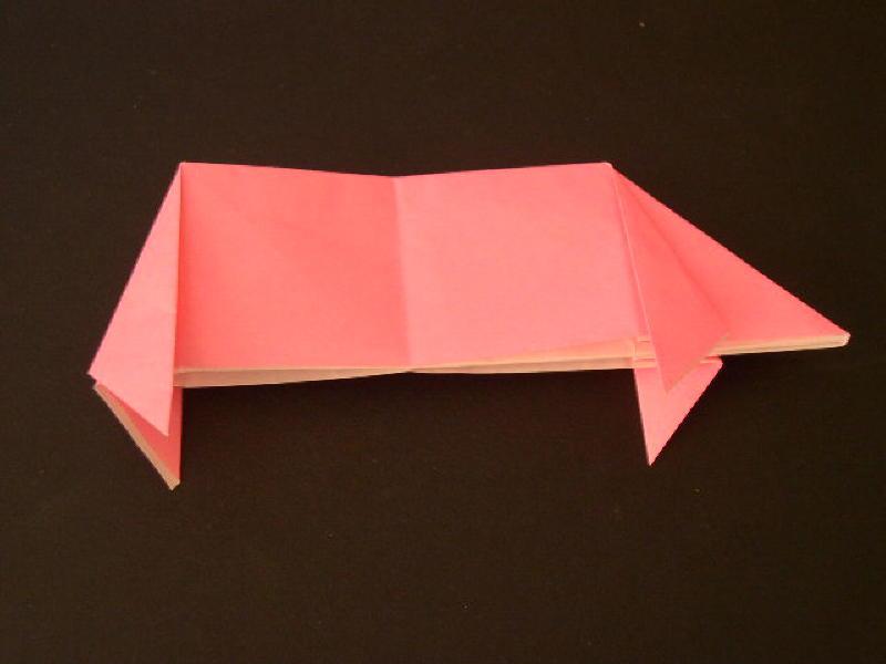 Origami Pig Photo Diagrams 19