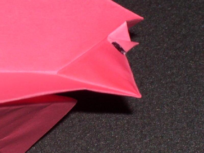 Origami Pig Photo Diagrams 24