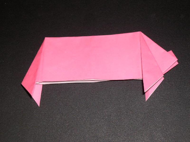 Origami Pig Photo Diagrams 26