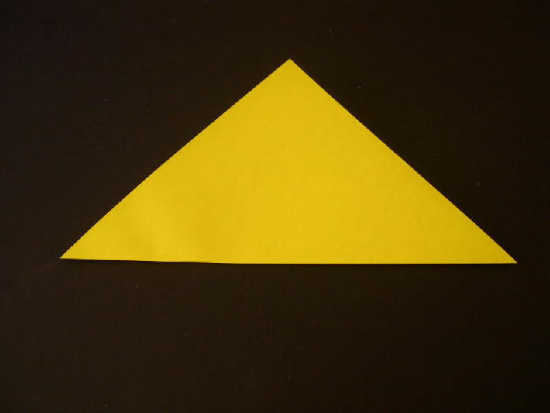 Origami  Bird - Origami Robin - Step 2