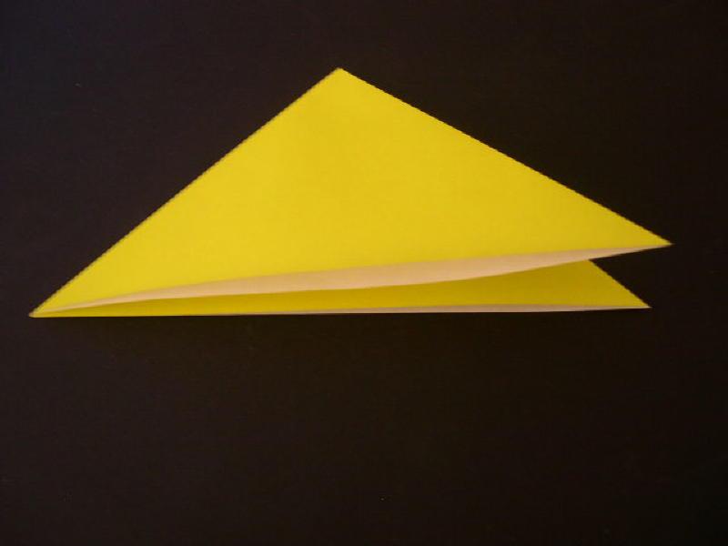 Origami  Bird  - Origami Robin - Step 3