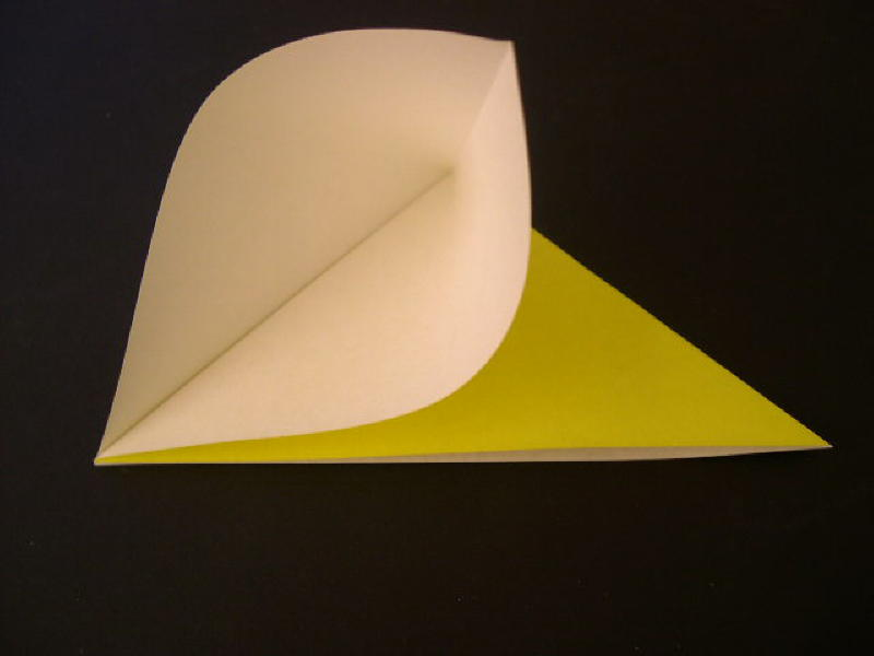 Origami  Bird - Origami Robin - Step 4