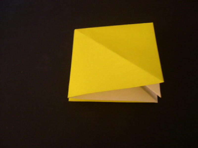 Origami  Bird  - Origami Robin - Step 6