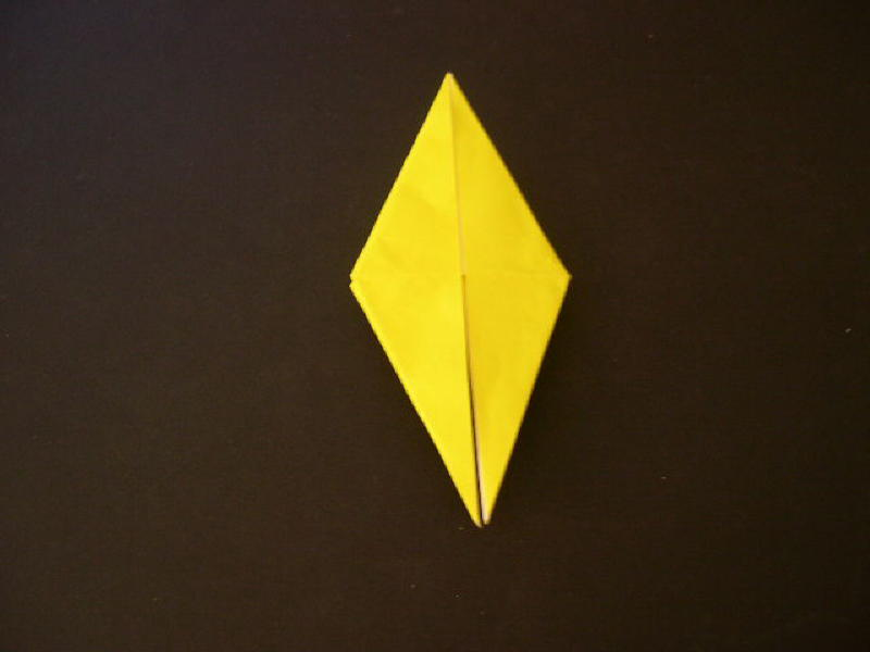 Origami  Bird  - Origami Robin - Step 10