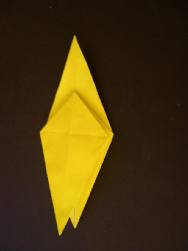Origami  Bird - Origami Robin - Step 11