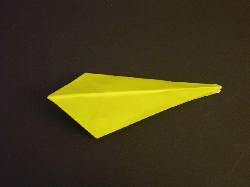 Origami  Bird  - Origami Robin - Step 13