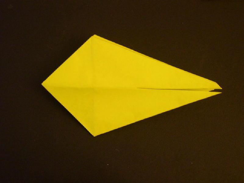Origami Bird  - Origami Robin - Step 14