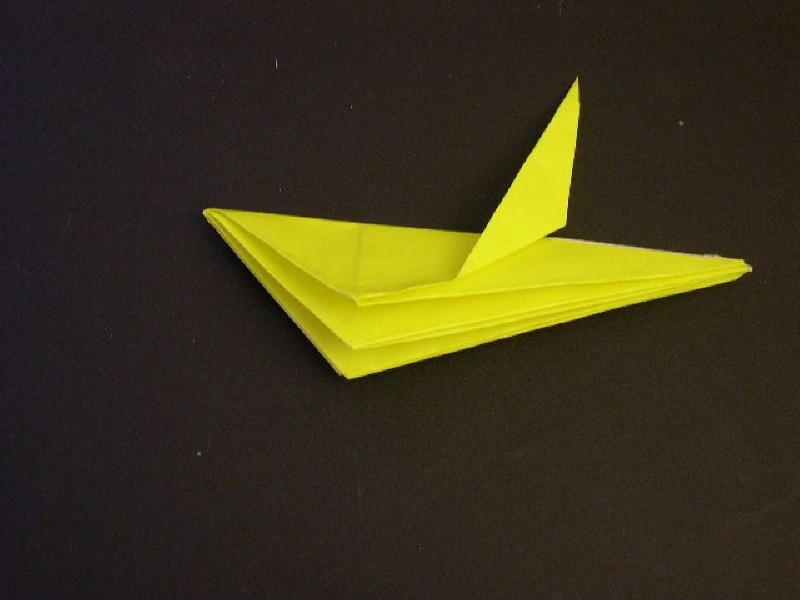 Origami  Bird  - Origami Robin - Step 15