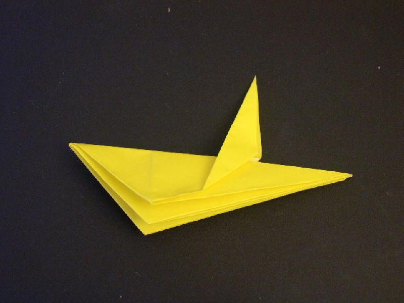 Origami  Bird  - Origami Robin - Step 16