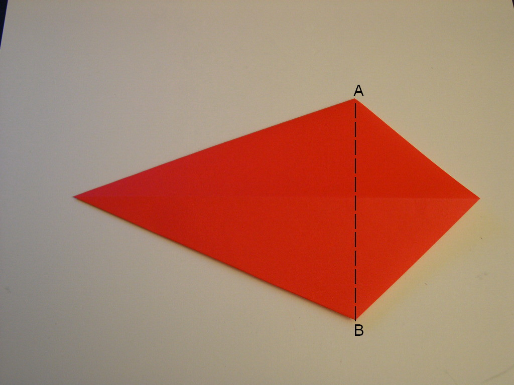 Origami Santa Hat Folding Instructions How To Make An Origami