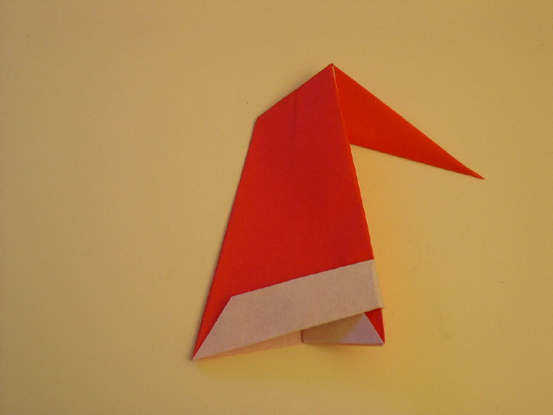 How to Make an Origami Santa Claus | 600x800
